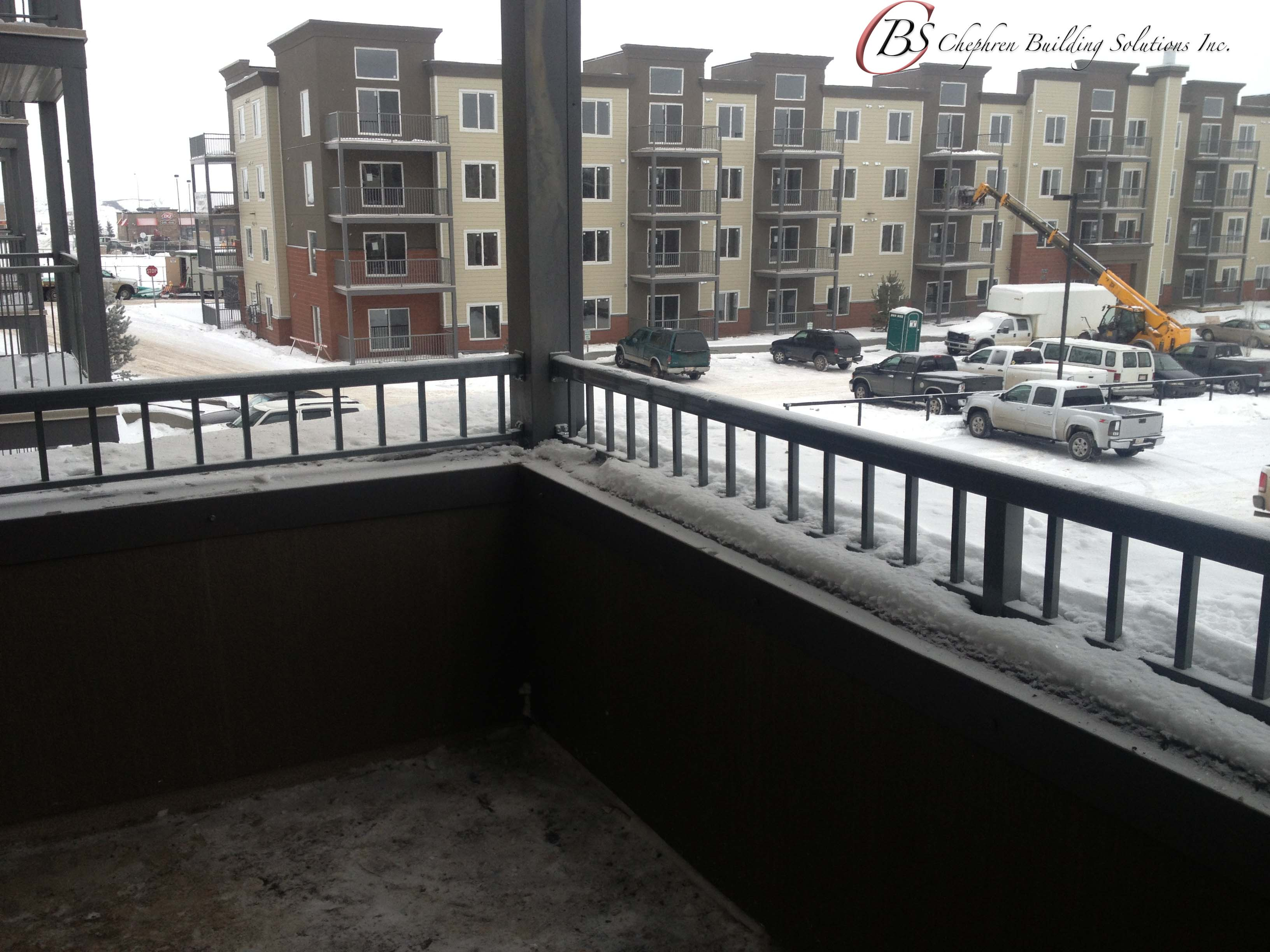 Deck, Railing, and renovation services for commercial projects.